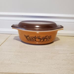 Vintage PYREX Old Orchard Baking Dish 1.5 …